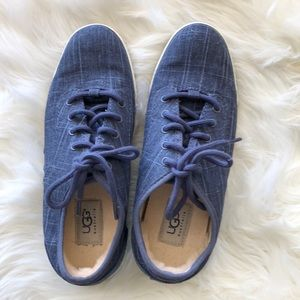 Uggs Women's Hally Blue Tennis Shoes Sneakers 7.5